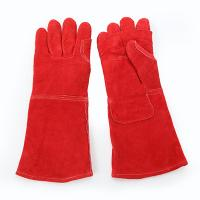 RED HEAT RESISTANCE GLOVES