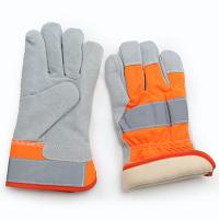 COW GRAIN WINTER GLOVES